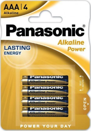 Μπαταρίες Panasonic Alkaline Power AAA (4τμχ)