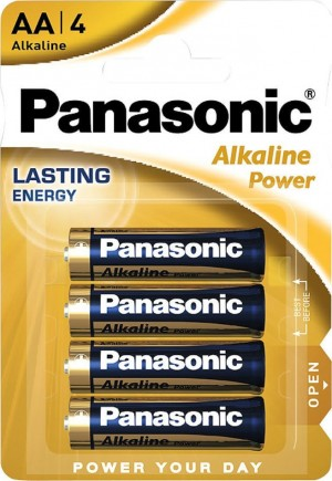 Μπαταρίες Panasonic Alkaline Power AA (4τμχ)